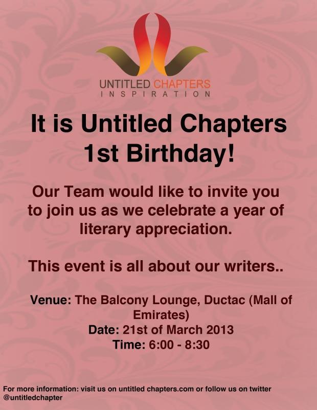 UC Birthday invite